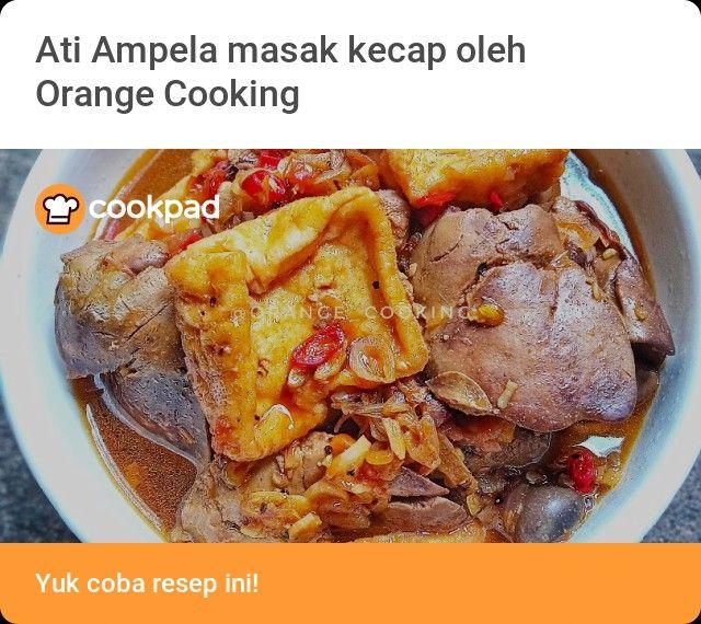 Pin Oleh Orange Cooking Di Resep Halal Resep