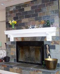 fireplace slate. Tile Fireplace  Natural Stone and Mantle San Diego California SanDiegoTiling com 25 best images on Pinterest Slate tiles