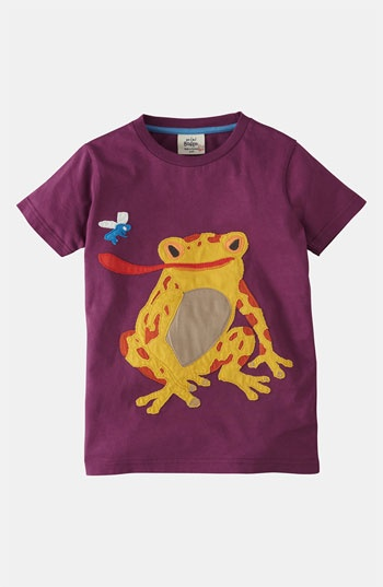 Mini Boden 'Big Appliqué' T-Shirt (Toddler, Little Boys & Big Boys) | Nordstrom - Arabella would love this shirt - who says it's a boy shirt!