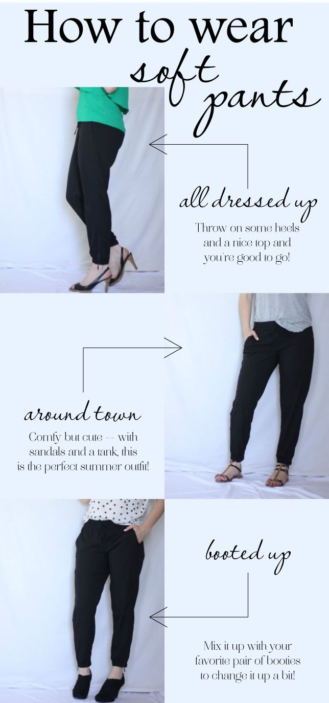 How to wear Soft Pants! YAY!  #JCPAmbassador #BH #Spon