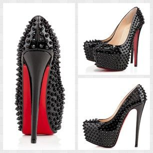 christian louboutin billie et boule studded pumps