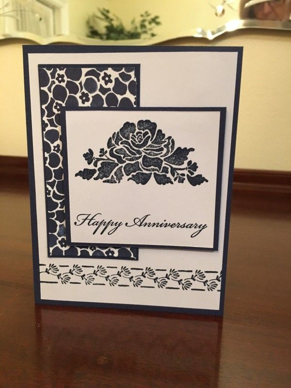 Happy Anniversary, 1 by GrammaStubbs - Cards and Paper Crafts at Splitcoaststampers