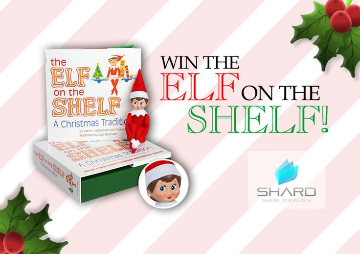 Enter to win: The Elf on the Shelf Doll with Book | http://www.dango.co.nz/s.php?u=wztixFhS2676