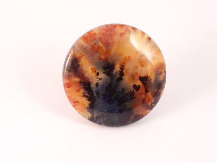 Woodward Ranch Plume Agate Cabochon, Texas http://etsy.me/2CYZKdg #agate #plumeagate #cabochon #woodwardranch #woodwardranchplumeagate