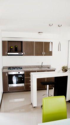 Ozono apartamentos, contiguo a una zona de reserva ambiental en el barrio Laureles.