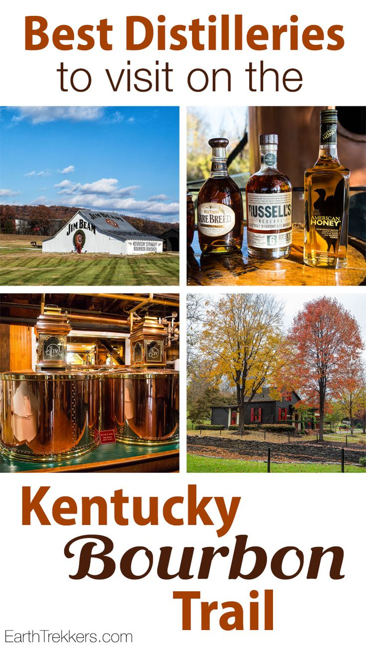 Kentucky Bourbon Trail: A Guide to the best distilleries