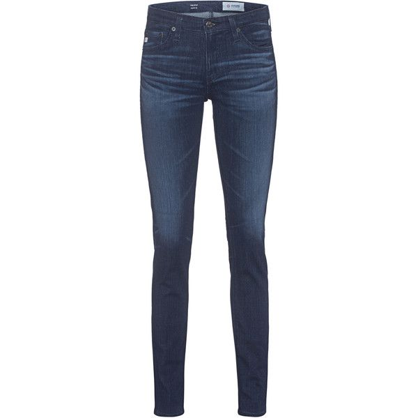 AG Jeans The Stilt 03 Years Imagination // Straight leg jeans (17.450 RUB) ❤ liked on Polyvore featuring jeans, ag+adriano+goldschmied jeans, dark blue jeans, slim leg jeans, slim fit jeans and ag adriano goldschmied