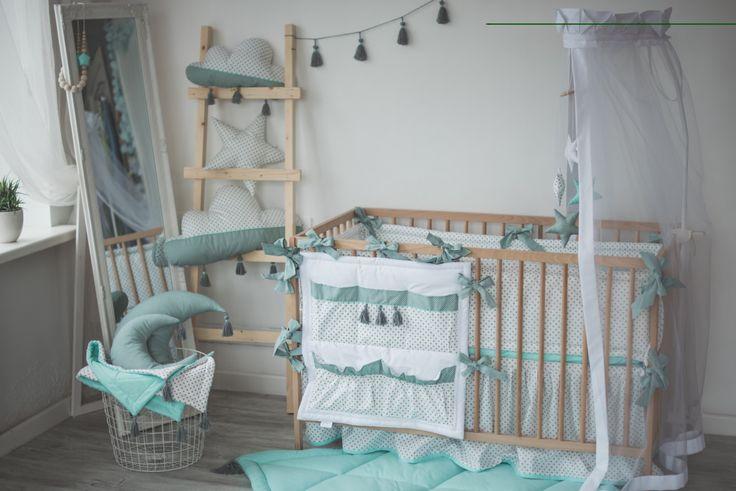Menta kiságy ágynemű-garnitúra baba fiú lány óvodai gyermekágy