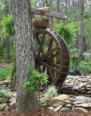 foot Water Wheel in Cane Creek NC. the 6ft water wheels are one of ...
