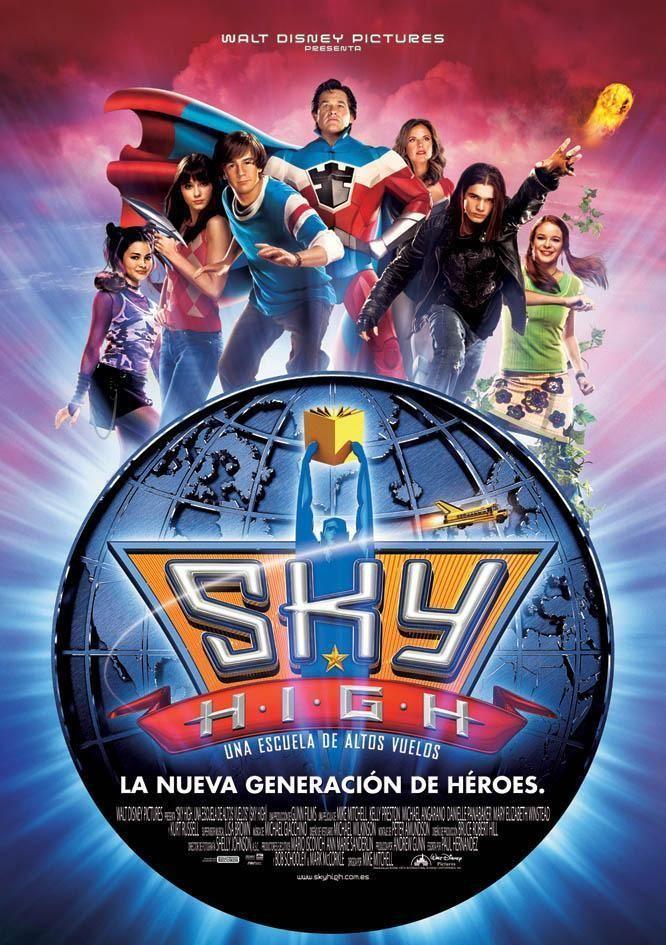 Sky High Super Escuela De Heroes Peliculas Viejas De Disney Peliculas De Adolecentes Peliculas De Disney
