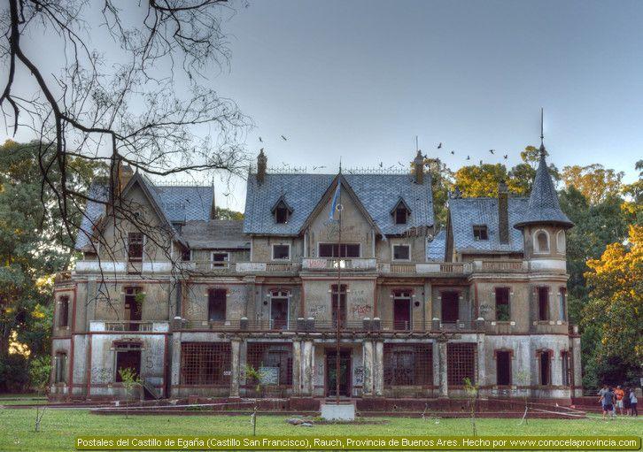 El Castillo de Egaña (Rauch, Buenos Aires) Imágenes. Historia.