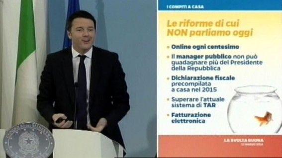 La #scossa di #Renzi: #milleeuro in più all'anno per 10 milioni di italiani. Leggi i dettagli della #conferenzastampa del premier e le critiche delle #opposizioni cliccando sull'immagine!