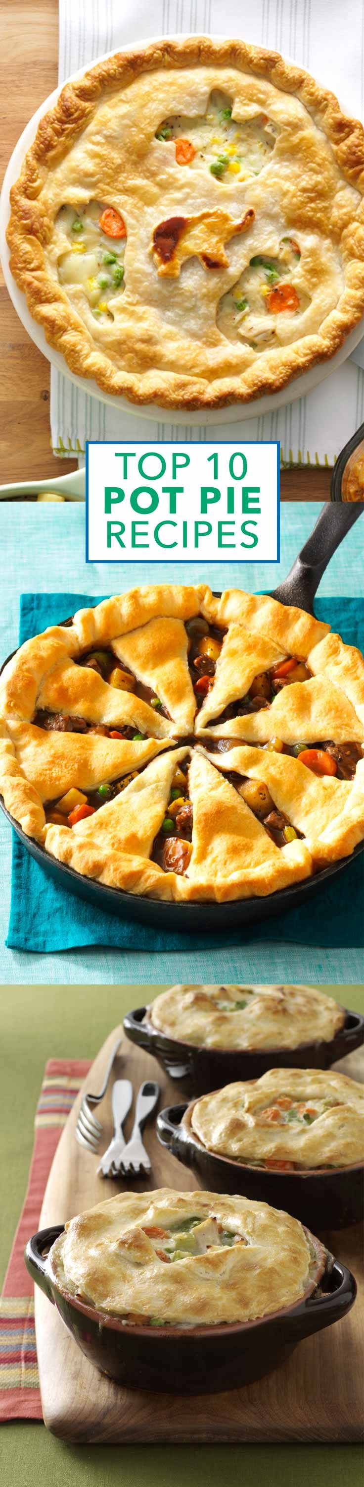 Top 10 Potpie Recipes from Taste of Home