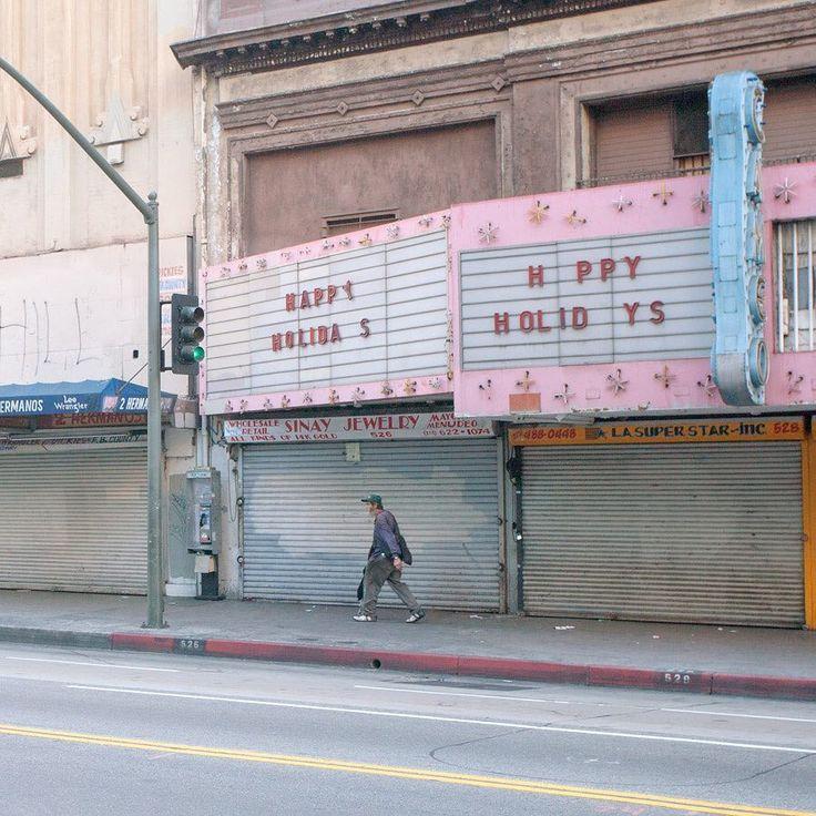"Abandoned Cinema ""HPPY HOLIDYS"" (Source: @_nguan_"