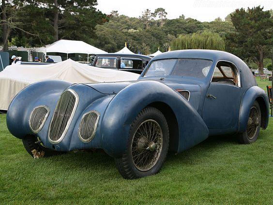1930 Talbot Lago T150C SS Pourtout Coupe -