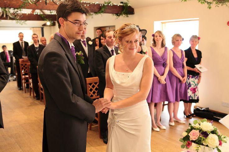 Wedding photographers at Oaks Farm