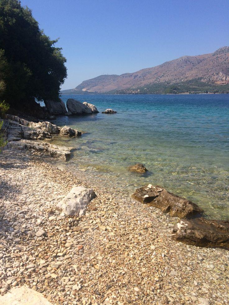 Syvota private beach