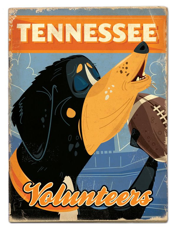 University of Tennessee Volunteers - SEC football preview by Thomas Burns.