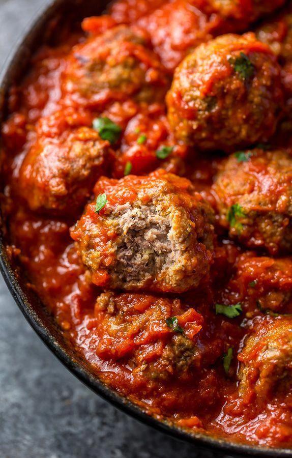 Albóndigas al horno fáciles   – meatball recipes