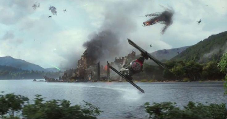 """El más reciente trailer del próximo filme de la famosa franquicia de """"Star Wars"""" ya ha llegado a internet y a solo unos días ya tiene al mundo vuelto loco esperando porque llegue la fecha de estreno este próximo 18 de Diciembre."""