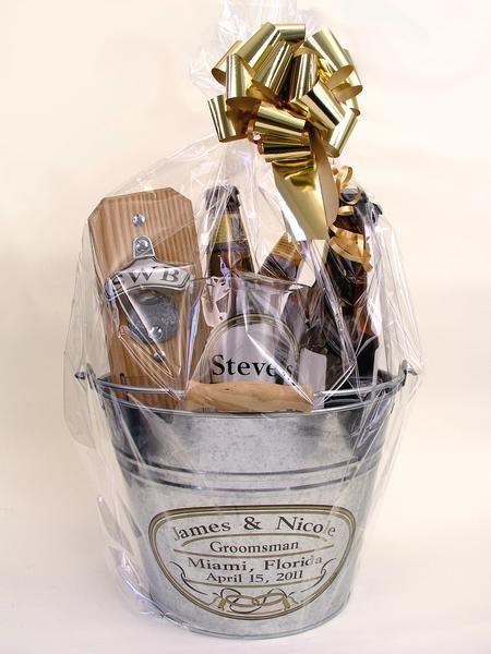 Gift Basket Groomsman Gift