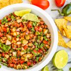 Grilled Shrimp Ceviche