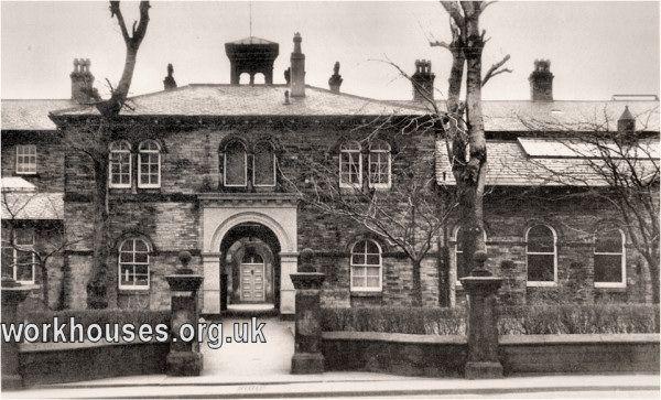 Bradford workhouse entrance block, date unknown