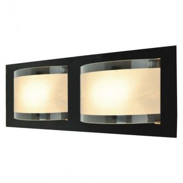 Plafon Colours Paxi 2 x 28 W E14 matowy/czarny