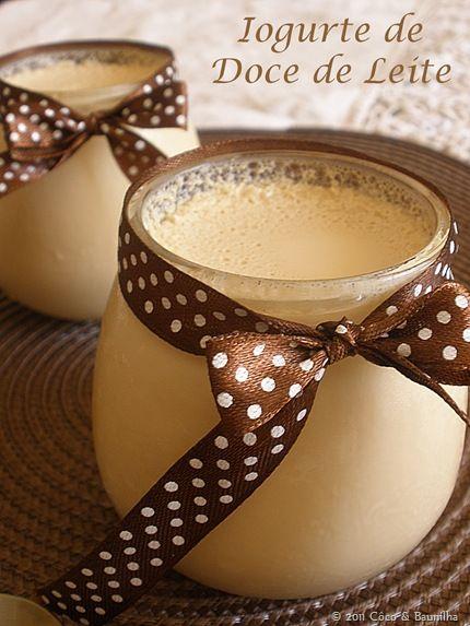 Iogurte de doce de leite