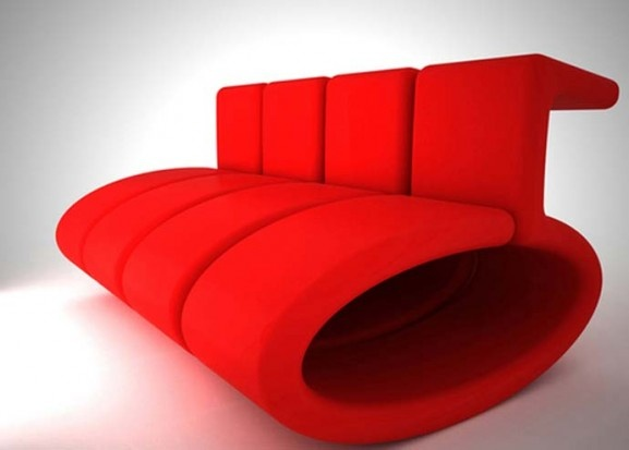 Roten Sofa, Rote Stühle, Modernen Retro, Retro Design, Stuhl Design,  Moderne Möbel, Messestände, Sephora, Sofa