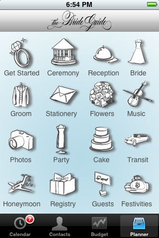 3 Wedding Planning Apps to Save Your Sanity.. pin now read muchh later