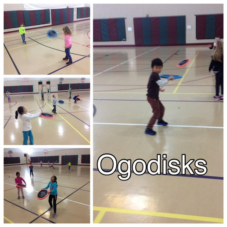 OgoSport Our students are loving the many fun options of Ogodisks! Frisbee, individual & partner hitting! #physed