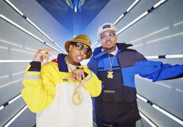 Chris Brown & Tyga's 'Ayo' Video Reminds Us of the 'Mo Money Mo Problems' Video