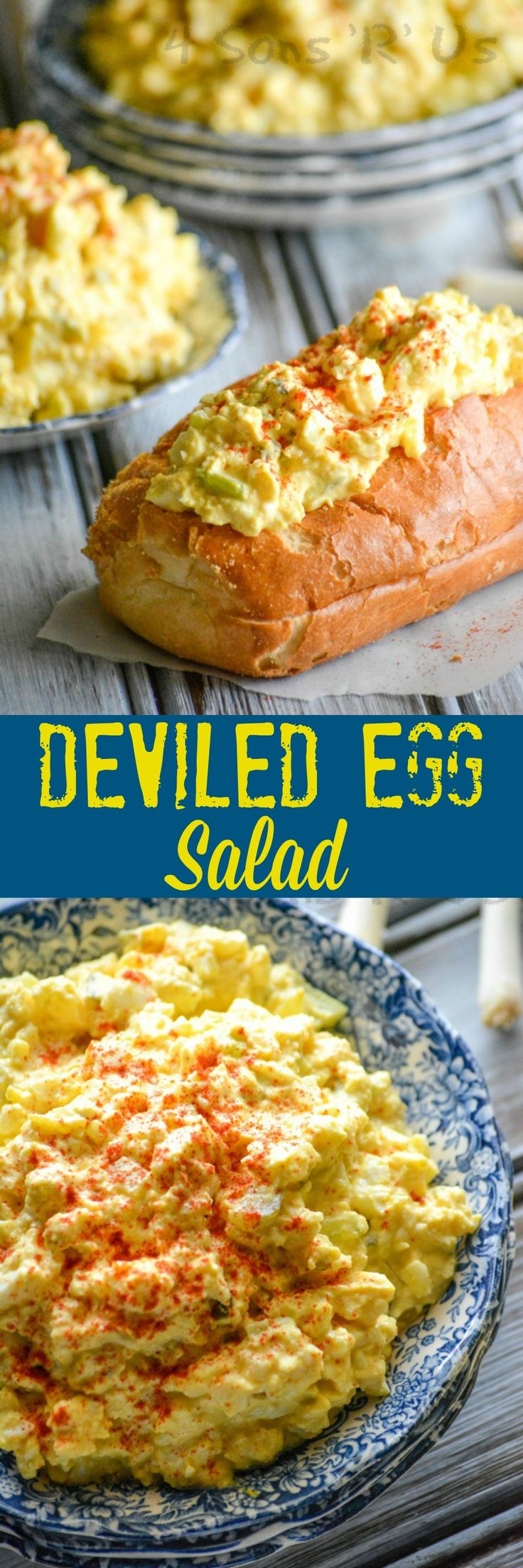 Don't wait for a party to make a batch of yummy deviled eggs. With this easy Deviled Egg Salad, you can enjoy their creamy, seasoned taste any day- and serve it up for virtually any meal. Easter's coming, and with it one of the kids' favorite holiday treats. The annual[Read more]