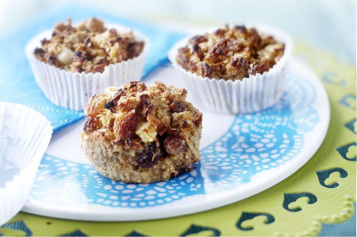 Volkorenbrood-muffins met appel: http://www.brood.net/recepten/fruit/muffins-met-appel