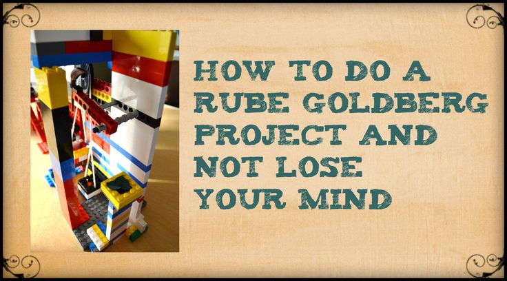 How to Do a Rube Goldberg Project and Not Lose Your Mind - STEAM-Powered Classroom