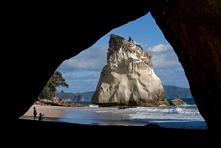Cathedral Cove thanks to Fotoreizen Nieuw Zeeland