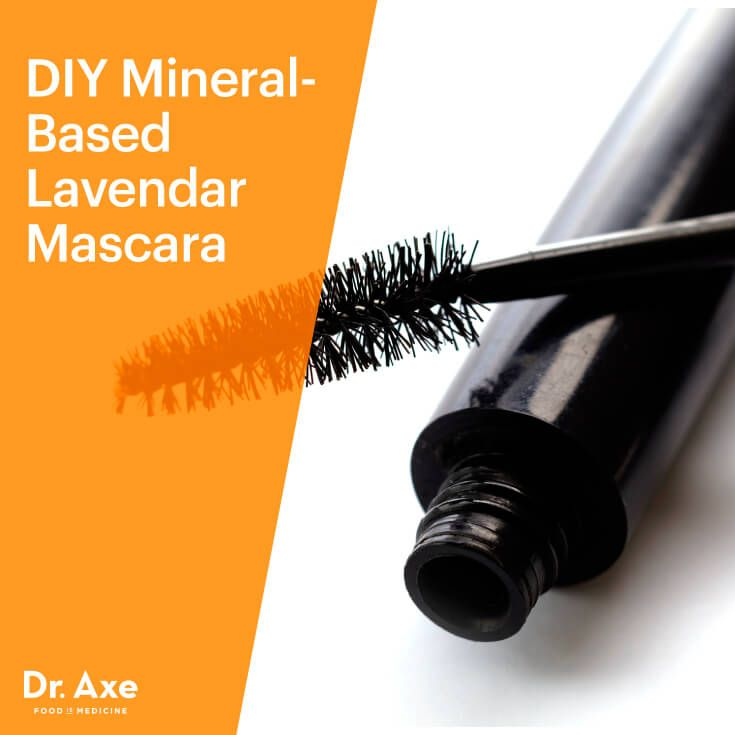 Homemade mascara - Dr. Axe http://www.draxe.com #health #holistic #natural