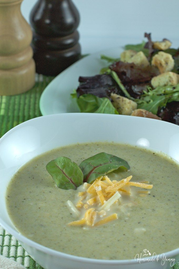 Broccoli overload soup is quick and easy using minimal for Recipes with minimal ingredients
