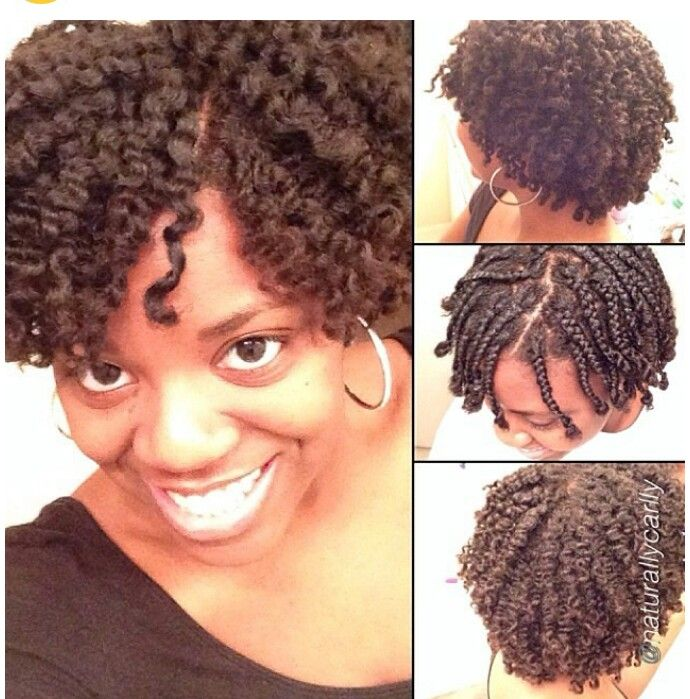 Twist Out Hairstyles For Transitioning Hair Hairstyle