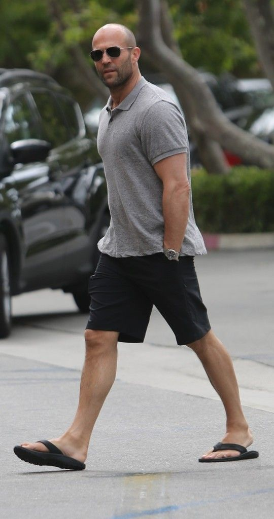 Jason Statham Photos: Jason Statham Picks Up Groceries in LA
