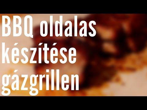 BBQ oldalas készítése gázgrillen - Húsimádó