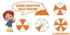 Esercizi sulle frazioni da stampare per la scuola primaria