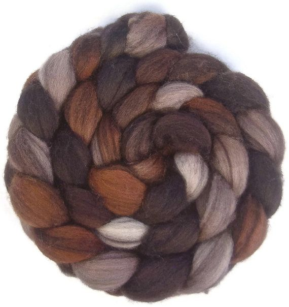 Cappuccino colored roving BFL