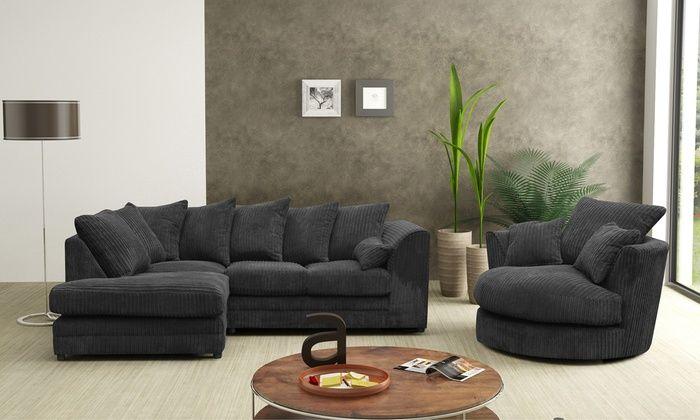 Milo Plain Sofa And Lounge Collection Sofa Corner Sofa And Swivel Chair Corner Sofa