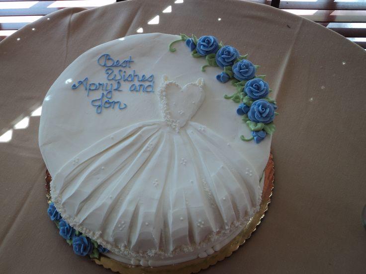 Pinterest Wedding Shower: Wedding Shower Cake!