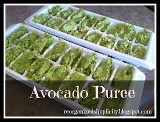 Homemade Baby Food Stage 1: Avocados