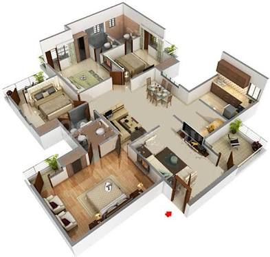 Image Result For 2000 Sq Ft Indian House Plans