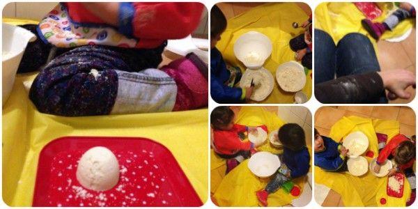 Zaubersand Mondsand Indoorsand Sand aus Mehl und Babyöl