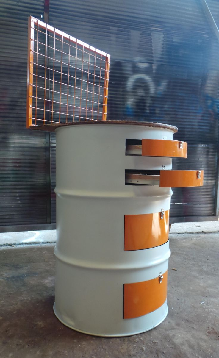 drum oil recycle